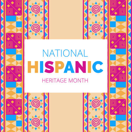 Mois national du patrimoine hispanique célébré du 15 septembre au 15 octobre aux États-Unis.