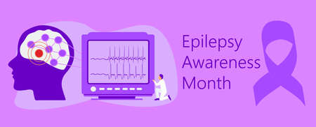 Epilepsy Awareness Month is organized on November in United States.