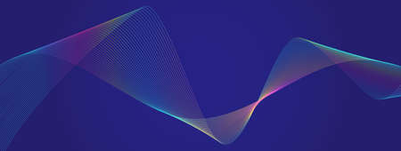 Digital wave particles background. Data science, system illustration. Software, glow wavy technology lines. Matrix, artifact intelligence abstract. Sound, audio, fractal texture ..