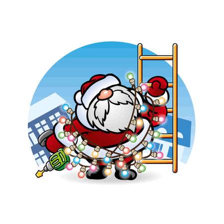 pere noel: ??? ????? Santa Claus ? ????????????? ? ????????? ??????? ?????????