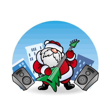 pere noel: ??? ????? Santa Claus ?????? ?? ?????? Illustration