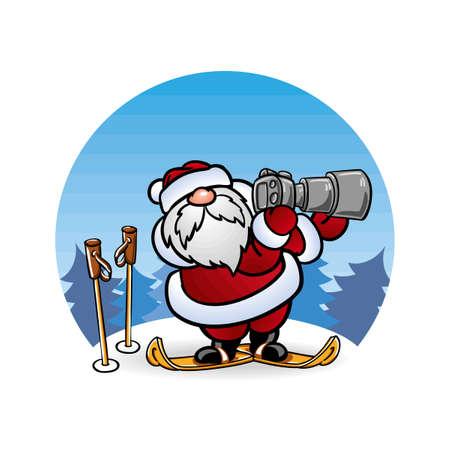 pere noel: ??? ????? Santa Claus ?? ????? ? ???? ????????????? Illustration