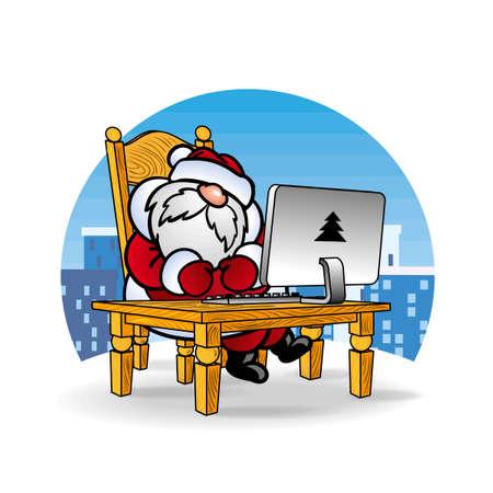 writing chair: ??? ????? Santa Claus ?? ??????????? ???????? ?? ??????