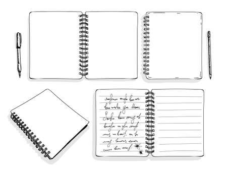 ensemble de croquis de tirage main dessiner dessin vectoriel. isolé sur fond blanc. sac à main levée