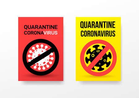 Set of concept coronavirus COVID-19.  pathogen respiratory coronavirus 2019-nCoV  , Asia-China. Vector illustration. Isolated on white background. 向量圖像