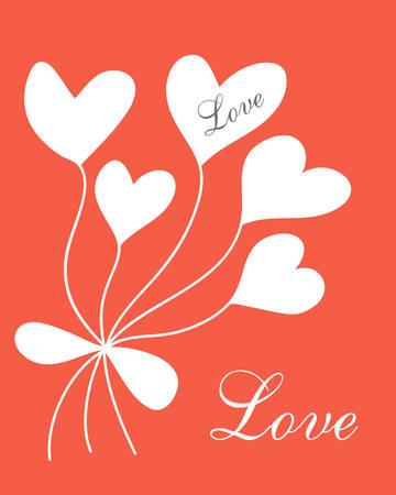 Romantic postcard Çizim