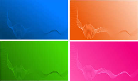 Four wave templates for design business card backgrounds royalty four wave templates for design business card backgrounds stock vector 4779406 flashek Images