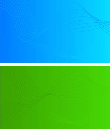 businees: Simple abstract backgroud - blue and green for your design Illustration