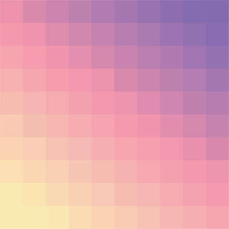 Simple colorful mosaic background for your designs Vector