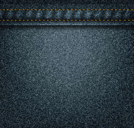 woven label: Texture of dark jeans for your design