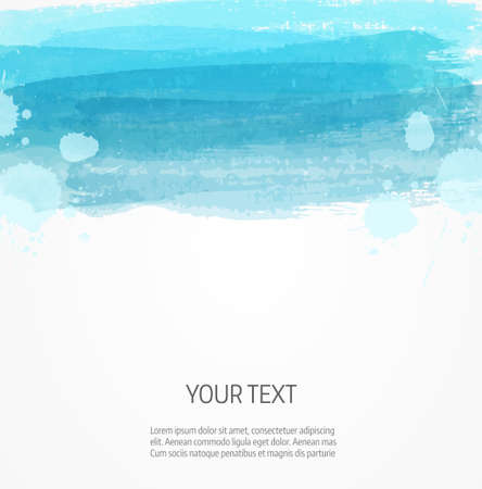 Background template with watercolor imitation lines