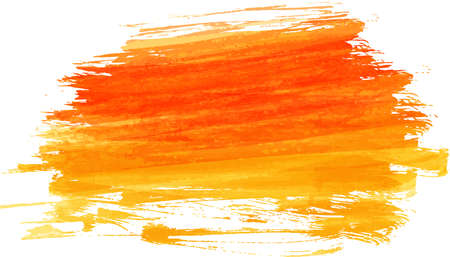 brushed: Watercolor imitation brushed background. Vector illustration.
