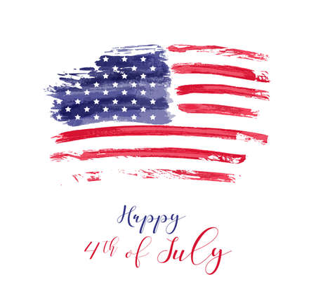 USA Onafhankelijkheidsdag achtergrond. Gelukkig 4 juli. Stockfoto - 98093143