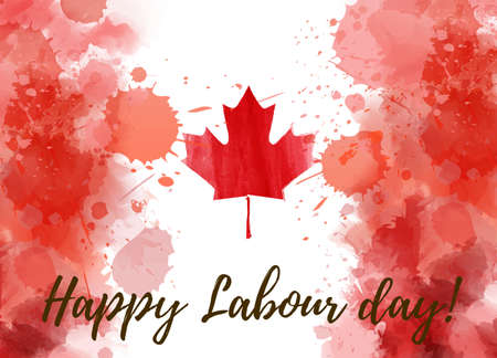 Labour Day Canada Stock Illustrations Cliparts And Royalty Free Labour Day Canada Vectors