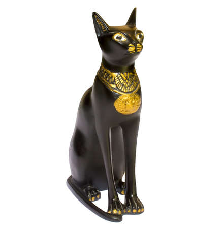 Statue Egypt Cat Stock Photo