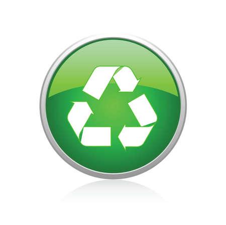 Recycle green Vector