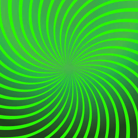 Twirl Green Abstract Stock Vector - 6653788