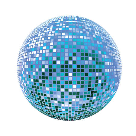 Disco sphere Illustration