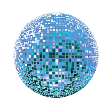 Disco sphere Stock Vector - 6653844