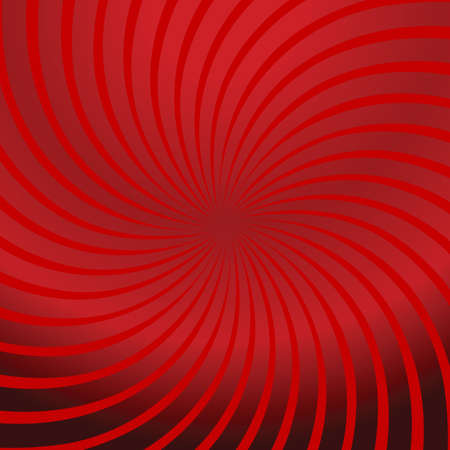 Twirl red abstract Illustration