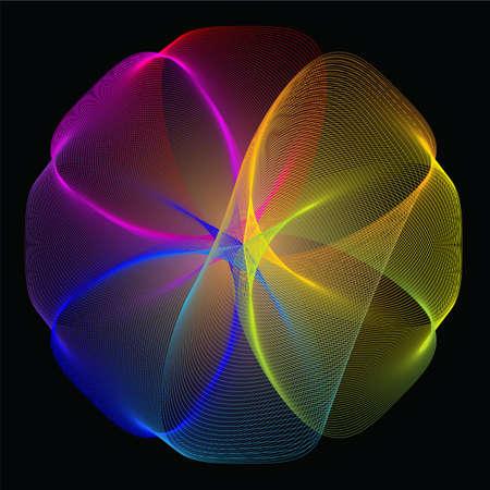 blend: Blend gradient Illustration