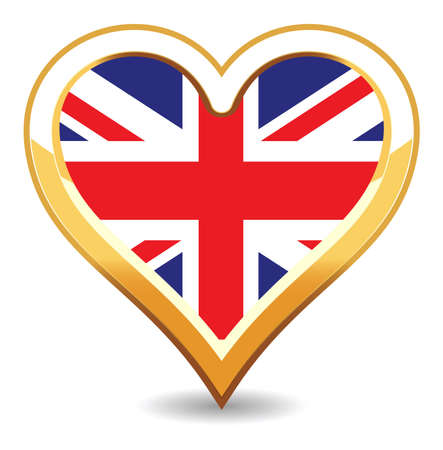Hear Britain Flag Stock Vector - 6696582