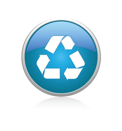 Recycle blue Stock Vector - 6696627