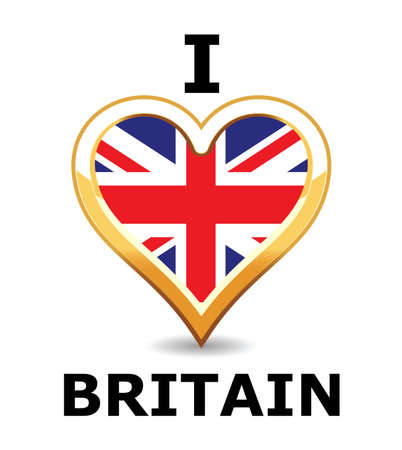 I love Britain Stock Vector - 6743280