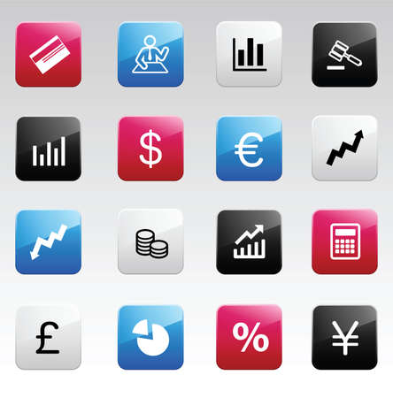 lira: Finance color icons