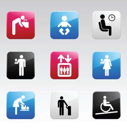 suckling: Set di icone colore # 4