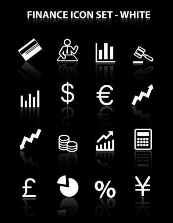 reflect: Reflect Finance Icon Set (White)