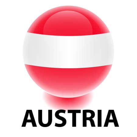creativy: Orb Austria Flag