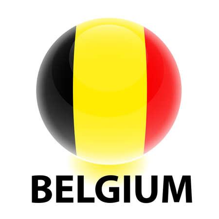 creativy: Orb Belgium Flag
