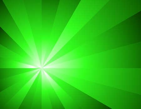 Green lighting abstract Stock Vector - 7854351