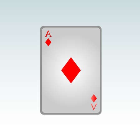 ace of clubs: Ace diamonds Illustration