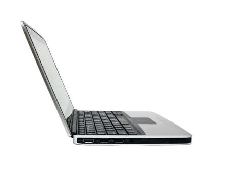 Single netbook (laptop) Stock Photo - 7854385