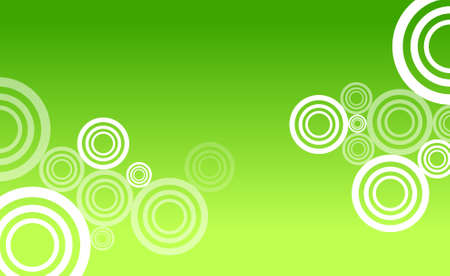 Green circle abstract Stock Vector - 7909799