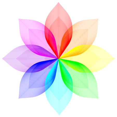 Mélange gradient Vecteurs