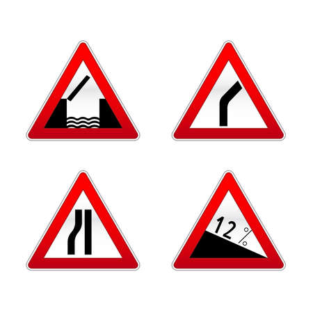 Signs traffic Stock Vector - 7909854