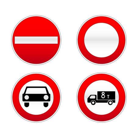 railroad crossing: Signs traffic