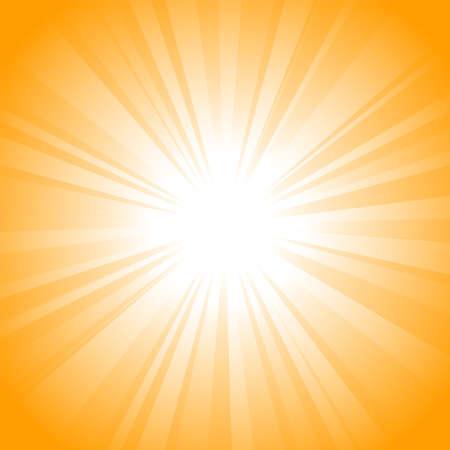 Fondo de vector de Sun  Ilustración de vector
