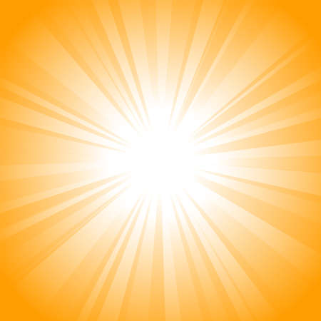 Sun vector background Stock Vector - 7909926