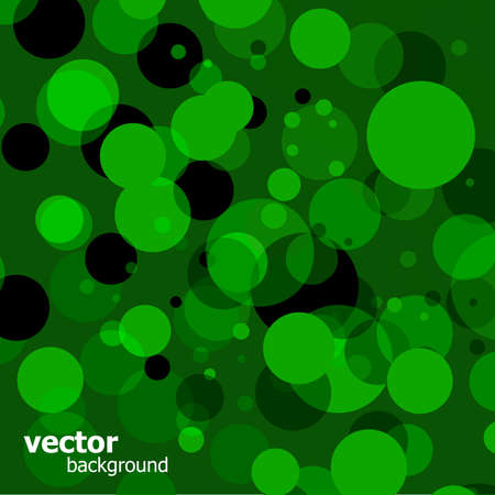 Green bokeh Stock Vector - 7909876