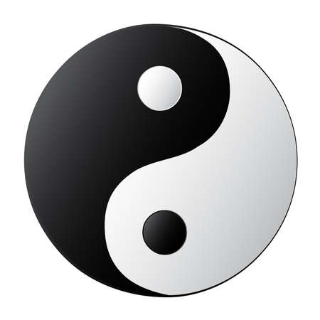 Yin Yang Stock Vector - 7909818