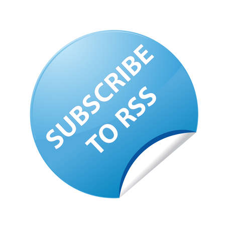 subscribe: Stickers Subscribe to RSS Illustration