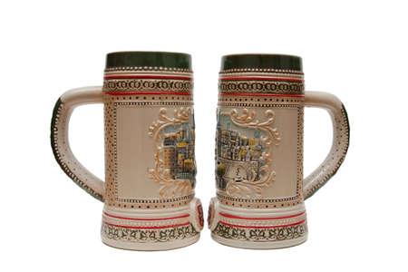 Beer mugs Stock Photo - 8303443