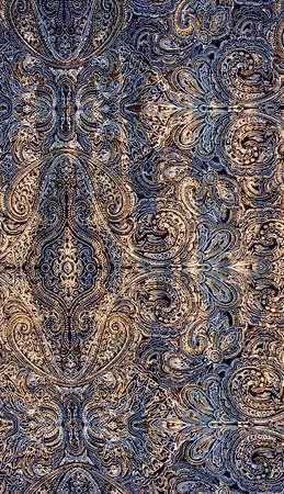 Blue fabric pattern. Background photo