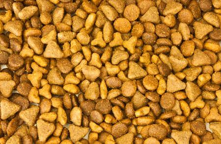 Cat food background Stock Photo