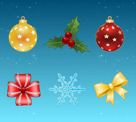 christmas icons Stock Vector - 8303673