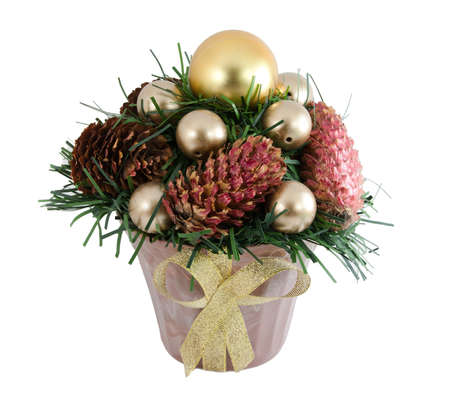 Christmas tree with a pinecone Stock Photo - 8384679